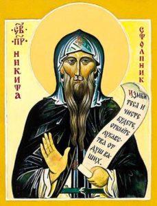 икона св. Никиты, Переяславского столпника