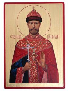 икона Царя-страстотерпца Николая