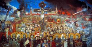 Картина И. Глазунова «Вечная Россия», 1988. www.img-fotki.yandex.ru