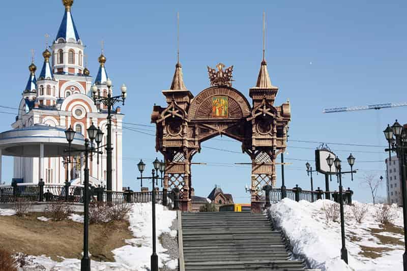 арка Цесаревича в Хабаровске Отбор проектов